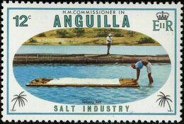 Anguilla 1980 Salt Industry b