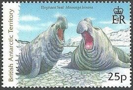 British Antarctic Territory 2006 Seals a