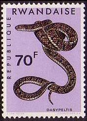 Rwanda 1967 Snakes h