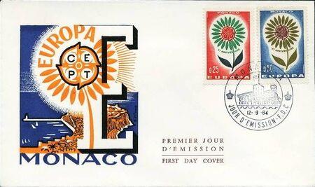 Monaco 1964 Europa e