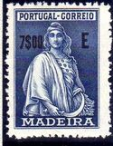 Madeira 1929 Ceres (London Issue) u
