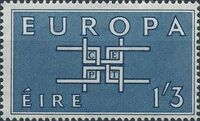Ireland 1963 Europa b