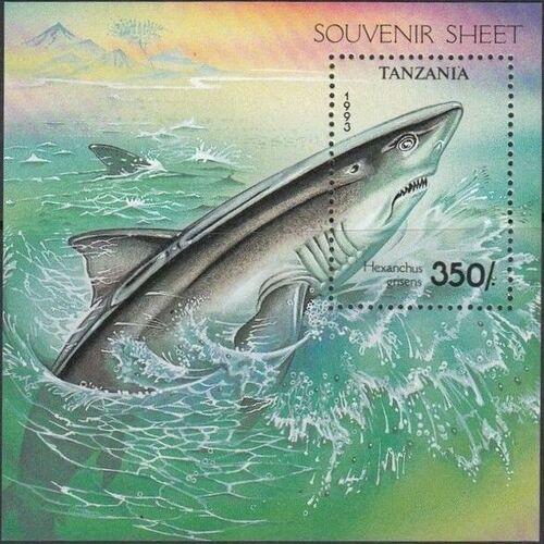 Tanzania 1993 Sharks i