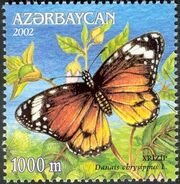 Azerbaijan 2002 Butterflies and Moths a