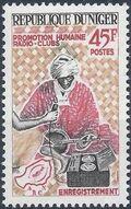 Niger 1965 Radio Clubs of Niger b