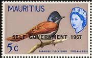 Mauritius 1967 Self-Government Overprints d