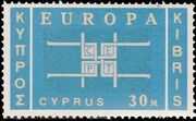 Cyprus 1963 Europa b