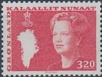 Greenland 1989 Queen Margrethe II a
