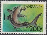 Tanzania 1993 Sharks g