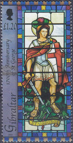 Gibraltar 2003 1700th Anniversary of St. George c