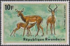Rwanda 1975 Antelopes f