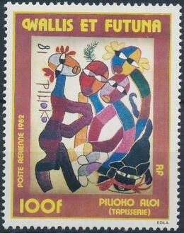 Wallis and Futuna 1982 Tapestry a