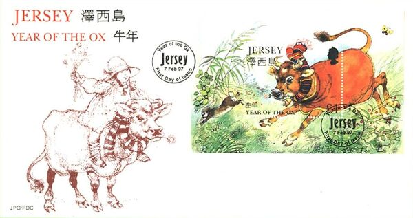 Jersey 1997 Year of the Ox i