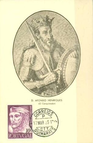 Portugal 1955 Portuguese Kings l