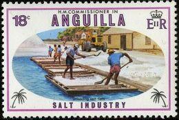 Anguilla 1980 Salt Industry c