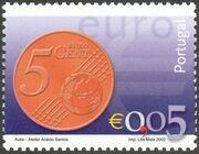 Portugal 2002 Euro c