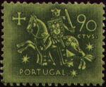 Portugal 1953 Definitives - Medieval Knight f