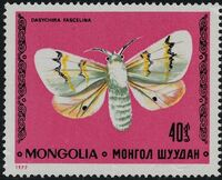 Mongolia 1977 Butterflies and Moths d