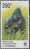 Congo, Democratic Republic of 2002 WWF Gorillas c