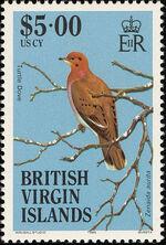 British Virgin Islands 1985 Birds of the British Virgin Islands s
