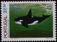 Portugal 1983 Brasiliana 83 - International Stamp Exhibition - Marine Mammals c
