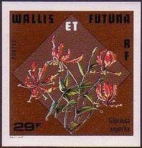 Wallis and Futuna 1978 Flowers g