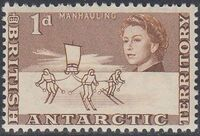 British Antarctic Territory 1963 Definitives b