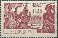 Niger 1939 New York World's Fair a