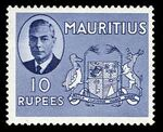 Mauritius 1950 Definitives o