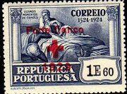 Portugal 1929 Red Cross - 400th Birth Anniversary of Camões e