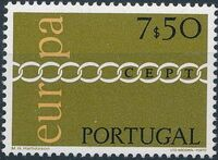 Portugal 1971 Europa c