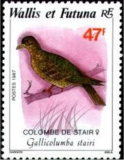 Wallis and Futuna 1987 Birds c