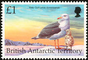British Antarctic Territory 1998 Birds j