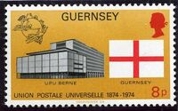 Guernsey 1974 U.P.U. c