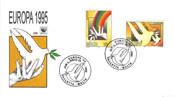 Malta 1995 Europa c