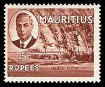 Mauritius 1950 Definitives n