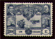 Portugal 1923 First flight Lisbon Brazil n
