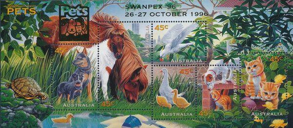 Australia 1996 Pets t