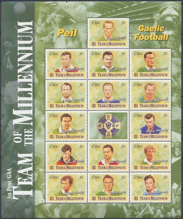 Ireland 1999 Gaelic Football Team of the Millennium w