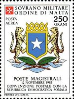 Sovereign Military Order of Malta 1986 Agreements Concluded by The Postal i