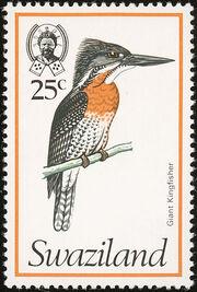 Swaziland 1976 Birds k