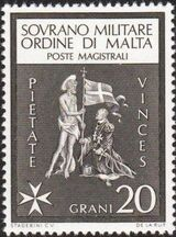 Sovereign Military Order of Malta 1966 Different subjects f