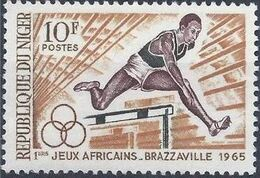 Niger 1965 1st African Games a
