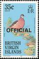 British Virgin Islands 1986 Birds Ovptd. OFFICIAL l.jpg