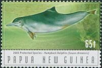 Papua New Guinea 2003 Protected Species - Dolphins a