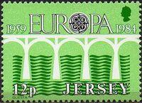 Jersey 1984 EUROPA CEPT b