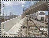 Portugal 1999 Inauguration of Rail Link Over 25th of April Bridge b