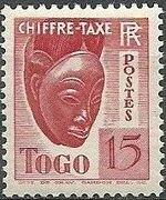 Togo 1941 Postage Due c