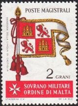 Sovereign Military Order of Malta 1967 Flags of Ancient Languages and from Order a