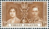 British Virgin Islands 1937 George VI Coronation b
